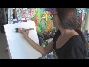 acrylic-painting-techniques-prepare-canvas-800x800